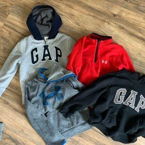 Gap under Armour boys hoodie sweatshirts 6